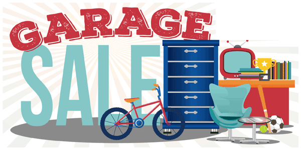 Garage sale on Pickers Trading Place